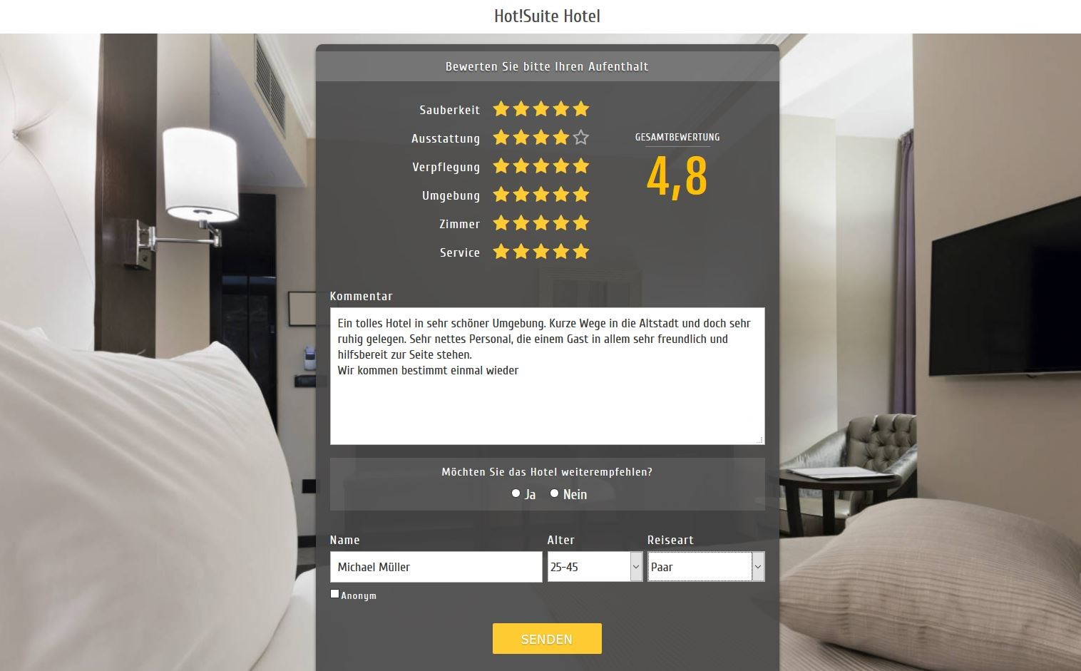 Hotel Reputation Management Software | Hot!Review