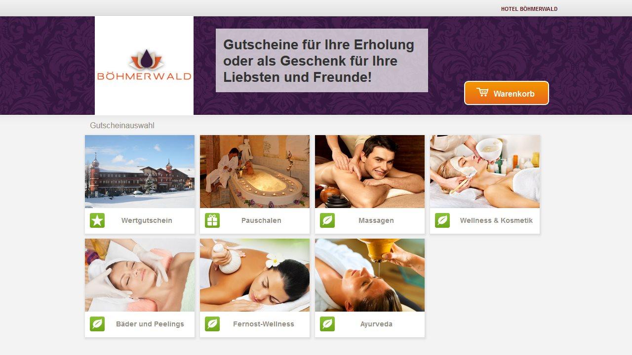 Gutscheinshop Hotel Böhmerwald