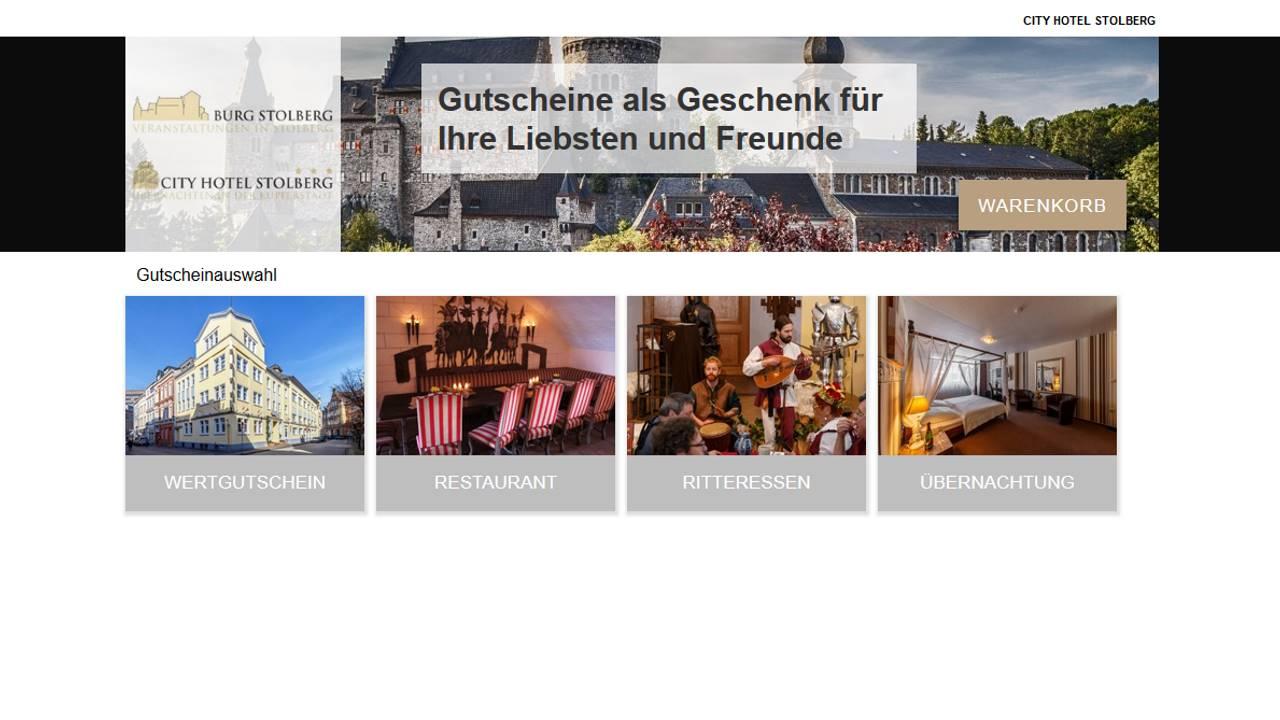 Gutscheinshop Hotel Stolberg