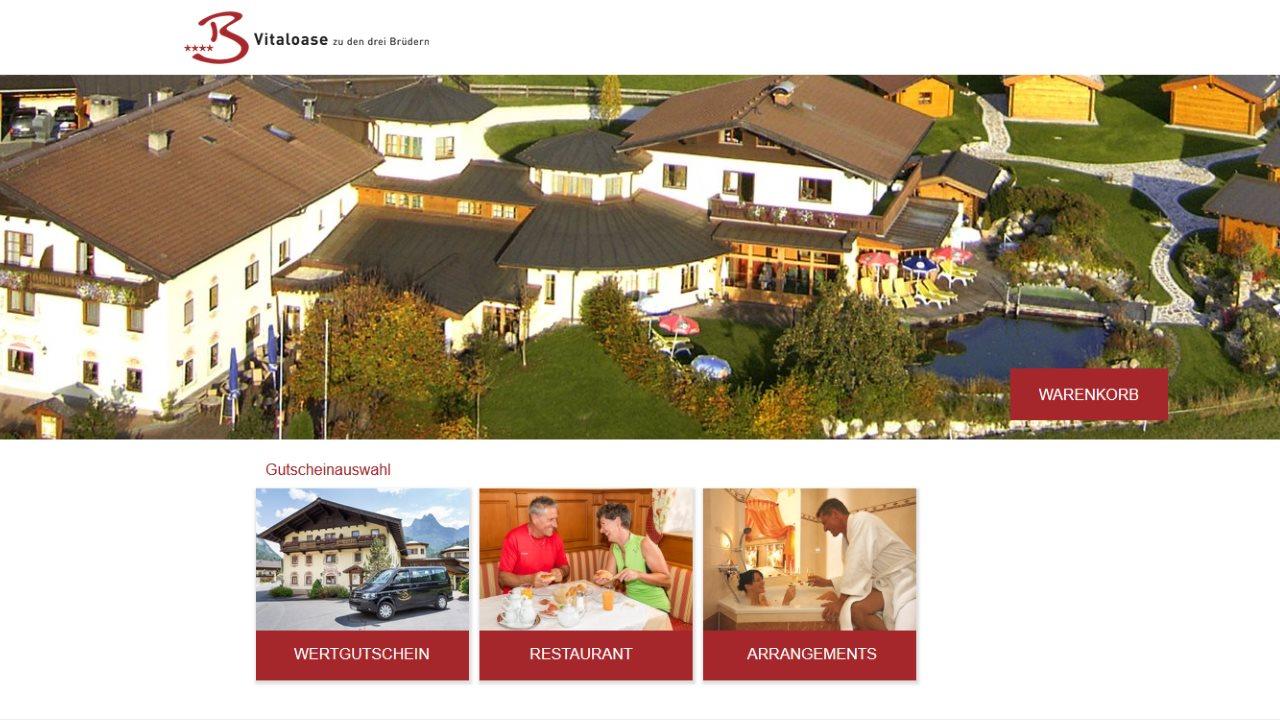 Gutschein-Shop Vitaloase zu den drei Brüdern