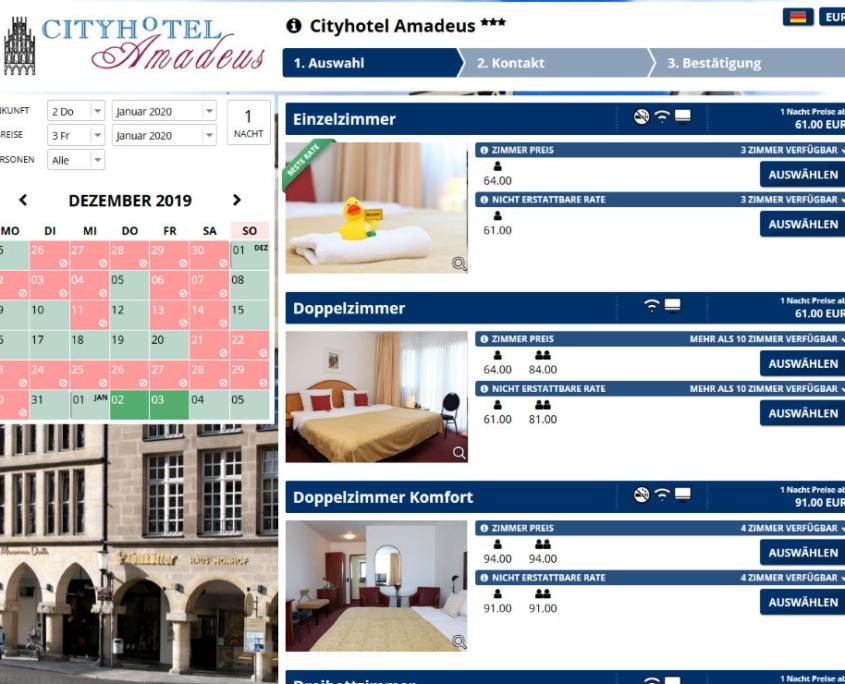 Buchungssystem Hotel